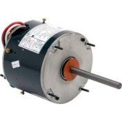US Motors 5465, Condenser Fan, 1/2 / 1/5 HP, 1-Phase, 1075 RPM Motor
