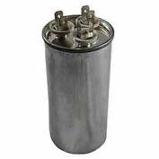 Dual Voltage 370/440 - Round Run Capacitor - 55+10 Mfd