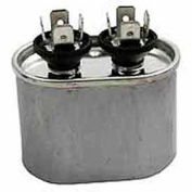 Dual Voltage 370/440 - Oval Run Capacitor - 55 Mfd