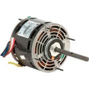 US Motors 5840, Direct Drive Fan & Blower, 1/2 HP, 1-Phase, 1075 RPM Motor