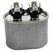 Dual Voltage 370/440 - Oval Run Capacitor - 60 Mfd