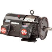 US Motors Open Loop Vector Duty, 1.5 HP, 3-Phase, 1745 RPM Motor, B32T2BC