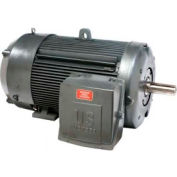 US Motors, TEFC, 250 HP, 3-Phase, 3555 RPM Motor, C250P1WS