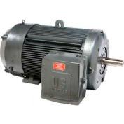 US Motors, TEFC, 250 HP, 3-Phase, 1190 RPM Motor, C250P3WF