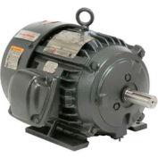 US Motors, TEFC, 5 HP, 3-Phase, 3520 RPM Motor, C5P1BC