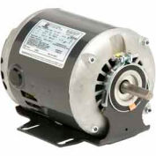 US Motors, ODP, 1/2 HP, 1-Phase, 1725 RPM Motor, D12B2N49