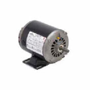 US Motors, ODP, 1/3 HP, 1-Phase, 1725 RPM Motor, D13BA2NZ