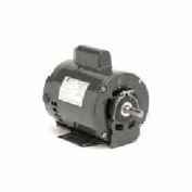 US Motors, ODP, 1/3 HP, 1-Phase, 1725 RPM Motor, D13CA2JH9