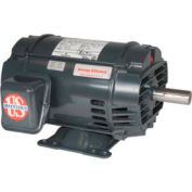 US Motors, ODP, 2 HP, 3-Phase, 875 RPM Motor, D2E4G