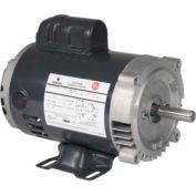 US Motors, ODP, 1 1/2 HP, 1-Phase, 3450 RPM Motor, D32C1JH