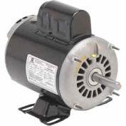 US Motors, ODP, 5 HP, 1-Phase, 1740 RPM Motor, D5C2K18