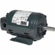 US Motors, ODP, 5 HP, 3-Phase, 1760 RPM Motor, D5P2G