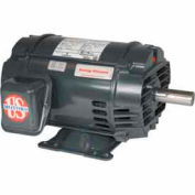 US Motors, ODP, 7.5 HP, 3-Phase, 1185 RPM Motor, D7P3H