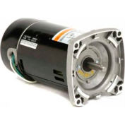US Motors Pool & Spa, Square Flange, 1 1/2 HP, 1-Phase, 3450 RPM Motor, EB854