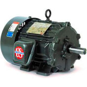 US Motors Hostile Duty TEFC, 10 HP, 3-Phase, 1760 RPM Motor, H10P2D
