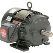 US Motors Hostile Duty TEFC, 5 HP, 3-Phase, 1760 RPM Motor, H5P2D