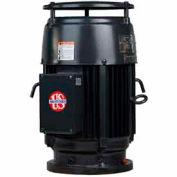 US Motors Vertical, 3 HP, 3-Phase, 1755 RPM Motor, NO3S2BE