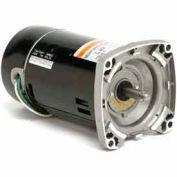 US Motors Pool & Spa, Square Flange, 1 HP, 1-Phase, 3450 RPM Motor, SQD10FL1