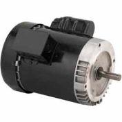 US Motors, TEFC, 1/2 HP, 1-Phase, 1725 RPM Motor, T12CM2JCR