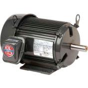 US Motors Unimount® TEFC, 3 HP, 3-Phase, 3490 RPM Motor, U3P1GF