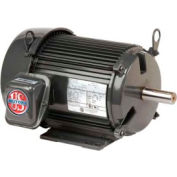 US Motors Unimount® TEFC, 5 HP, 3-Phase, 3525 RPM Motor, U5P1G