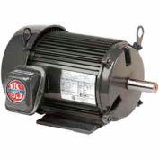 US Motors Unimount® TEFC, 5 HP, 3-Phase, 1760 RPM Motor, U5P2G