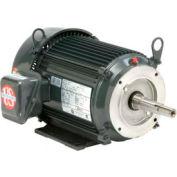 US Motors Pump, 1 HP, 3-Phase, 1745 RPM Motor, UJ1P2BM