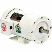 US Motors Washdown, 3 Phase, 1 1/2 HP, 3-Phase, 1725 RPM Motor, WD32S2AH