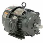 US Motors Hazardous Location, 5 HP, 3-Phase, 1755 RPM Motor, X5P2B