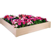"New Age Garden™ Raised Garden Bed/Sand Box 48""W x 48""D x 8""H"