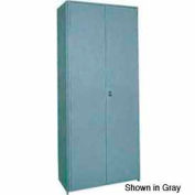"Clipper ® Swinging Doors, Pair, 48""W X 36""H, Gray"