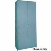 """Clipper ® Swinging Doors, Pair, 48""""W X 36""""H, Gray"""