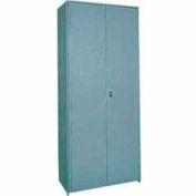 """Clipper ® Swinging Doors, Pair, 48""""W X 85""""H, Gray"""