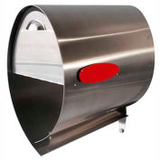 """Spira Stainless Steel Mailbox SPA-M001SS - 10""""W x 18-1/4""""D x 17-1/2""""H, Stainless"""