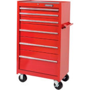 "Proto® 440SS 27"" Tool Tower - 6 Drawer, Red, 27""L X 52""H X 18""D"