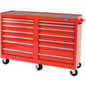 """Proto® 440SS 54"""" Workstation - 14 Drawer, Red, 54""""L X 42""""H X 18""""D"""