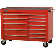 "Proto® 450HS 57"" Workstation - 11 Drawer, Red, 57""L X 43""H X 25""D"