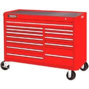 "Proto® 450HS 57"" Workstation - 13 Drawer, Red, 57""L X 43""H X 25""D"