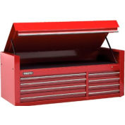 """Proto® 450HS 66"""" Top Chest - 8 Drawer, Red, 66""""L X 27""""H X 27""""D"""