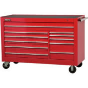 "Proto® 450HS 66"" Workstation - 11 Drawer, Red, 66""L X 46""H X 27""D"