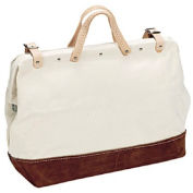 """Proto® Professional Extra Heavy-Duty Leather Reinforced Tool Bag - 24""""L"""