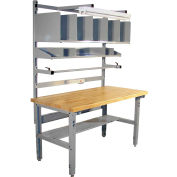 Pro-Line IWBPB6030M Packing Table Maple Surface Eased Edge - 60 x 30