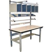 Pro-Line IWBPB6030PL Packing Table Plastic Laminate T-Mold Edge - 60 x 30