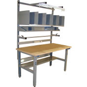 Pro-Line IWBPB7230DS Packing Table Economy Comfort Edge - 72 x 30
