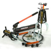 2 Jaw 10 Ton Hydraulic Puller Set w/ Manual Pump