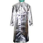 National Safety Apparel® Standard Aluminized 50 Coat, XL, Aluminized, C17ASXL50