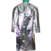 CARBON ARMOUR™ Silvers 19 oz. 45 Deluxe Aluminized Coat, 2XL C22NL2XL45