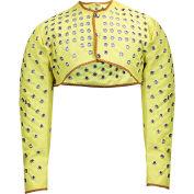 CutGuard™ Kevlar Eyeleted Shoulder Sleeves, L, Yellow, C32KV001LG