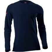 DRIFIRE® Performance Long Sleeve Flame Resistant T-Shirt, 3XL, Navy, DF2-CM-265ALS-NB-3XL