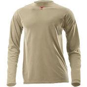 DRIFIRE® Lightweight Long Sleeve FR T-Shirt, 2XL, Desert Sand, DF2-CM-446LS-DS-2XL